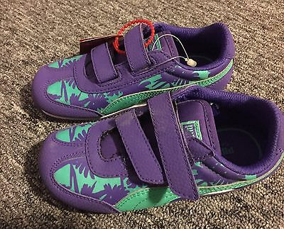 Girls Puma Whirlwind  Sneakers Purple W/Teal. Toddler Size 9 New