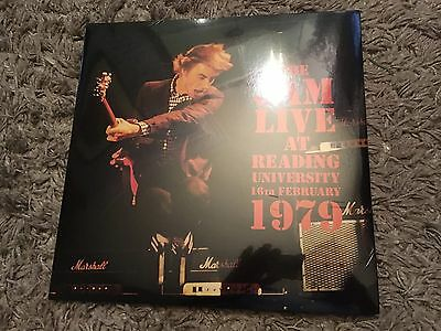 Brand New Very Limited The Jam Live At Reading University Double Vinyl Freepost