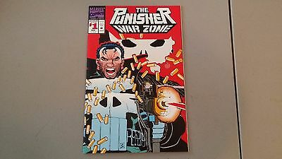 (1992) Marvel Comics The Punisher War Zone #1 Nm Combined Shipping
