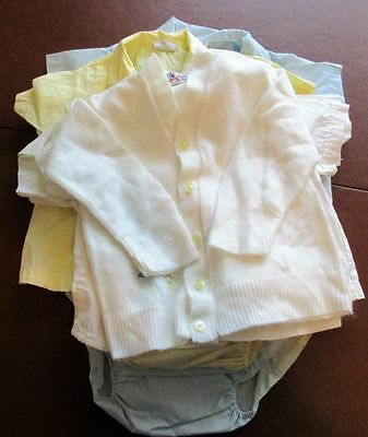 Lot of Boys Vintage 1960 Baby Clothes