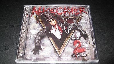 Alice Cooper Welcome to My Nightmare 2 Autographed signed Booklet CD