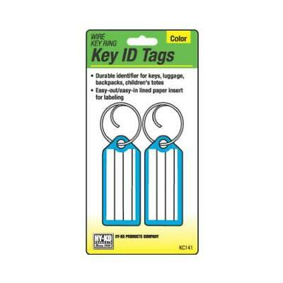 Hy-Ko Prod KC141 2PK Key Tag/Wire Ring - Quantity 5