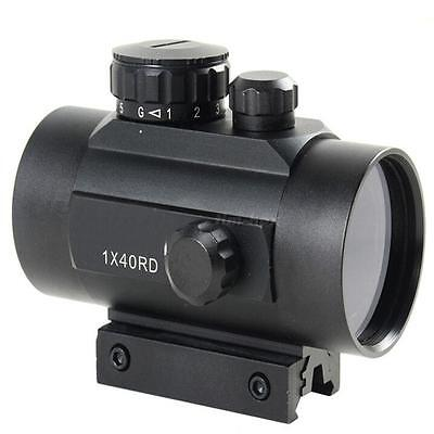 New Red/Green Holographic Tactical Laser Sight Scope Rifle Picatinny Rail Mount