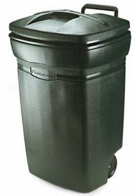 United Solutions RM134501 Roughneck  Wheeled Trash Can, 45-Gal. - Quantity 4