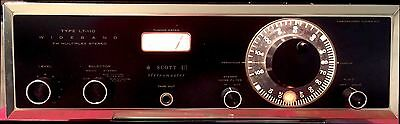 HH Scott LT-110 Stereo FM Tube Tuner  Excellent Condition   FREE SHIPPING