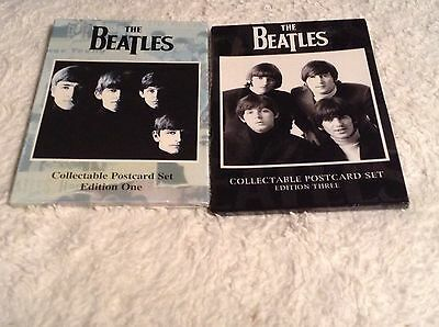 The Beatles Collectible Postcard Sets From The UK Editions 1 & 3 John Lennon