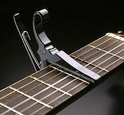 Kyser  Quick Change Capo. For Nylon String Classical Guitars - Made In Usa