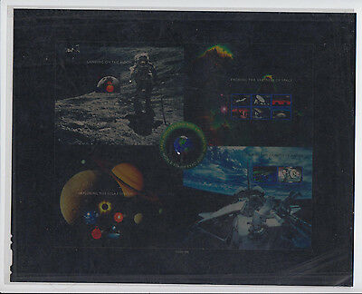 2000 Space sheets press sheet transparency media photo essay Scott 3409-3413