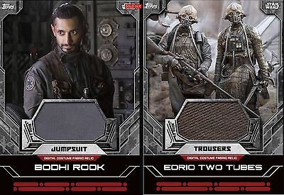 Topps Star Wars Card Trader Rogue One Darth Vader Costume Relic - Digital card