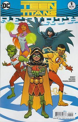 Dc Rebirth Teen Titans #1 Comic Variant Cover Wally West Damian Wayne