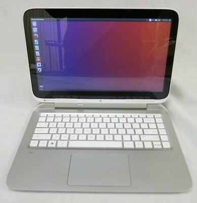 "HP Split 13 X2 13"" i3 4012Y 1.5 4GB 500GB Touchscreen WiFi Ubuntu Tablet Laptop"