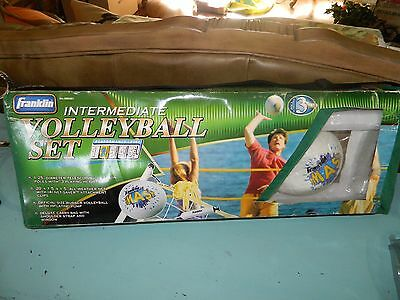 """Vintage Franklin Volleyball Set Volleyball Net & Hardware """"SMASH"""" New Old Stock"""