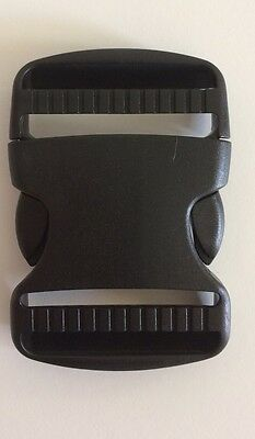 50mm Quick Side Release Buckle, Webbing, Dual Fix, ONE BUCKLE.