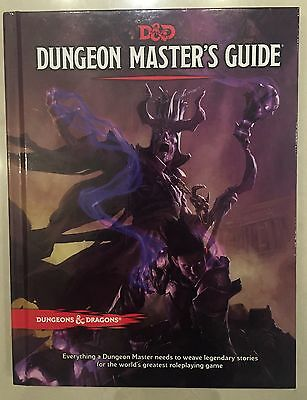 Dungeon & Dragons Hardcopy Dungeon Masters Guide Book