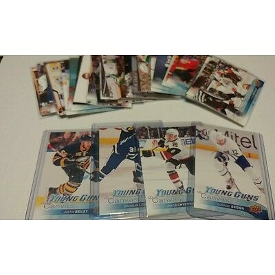 2016-17 Upper Deck Series 1 UD Canvas 1-60 You Pick UPick From List Lot