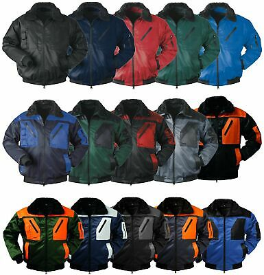 Norway Pilot Jacket Work Jacket 4 in 1 Winter Jacket Work Jacket S 4XL