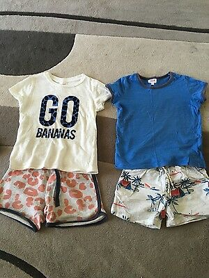 Seed boys size 2-3 T Shirts and shorts