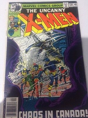 Uncanny X-men 120 1st Alpha Flight Marvel Comics