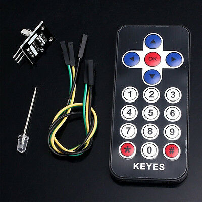 IR Receiver Module Wireless DIY Kit for Arduino Infrared Remote Control Module