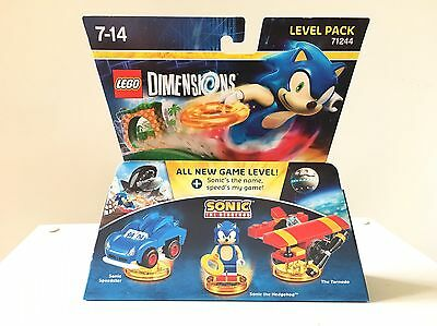 Lego Dimensions Sonic the Hedgehog Level Pack PS4 Xbox One Wii U