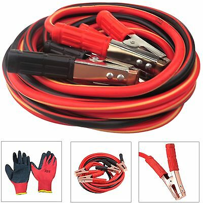 Pro Heavy Duty Long 1000Amp Car Van Jump Leads 6 Metre Booster Cables Start Uk