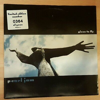 """Pearl Jam 'given To Fly' 7"""" Numbered Vinyl Single"""