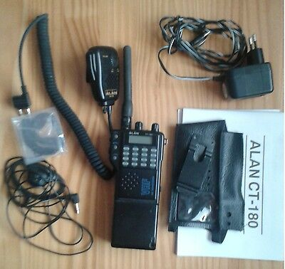 Emisora Walkie Transceiver VHF FM Alan CT-180