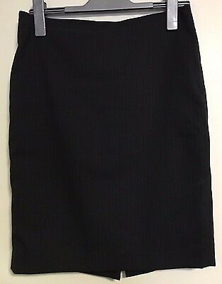 Country Road Pinstripe Work Skirt - size 10