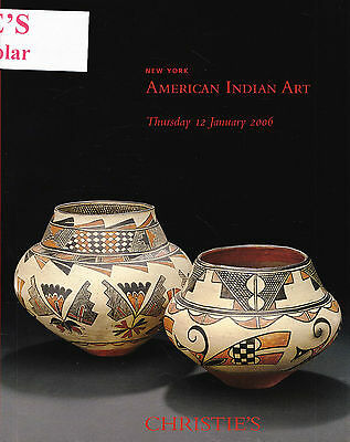 AMERICAN INDIAN ART - INDIANER-KUNST: Christie's N.Y. 06 +results