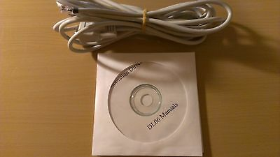 Automation Direct DL06 Programming Cable D2-DSCBL with Software and Manuals