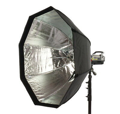 Bowens Fit Quick 95Cm Softbox Modifier With Honeycomb For Studio And Location
