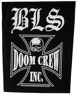 Black Label Society Doom Crew Inc Sew On Back Patch New & Official Band Merch