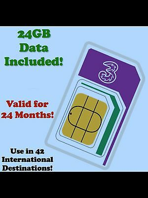 International Data Roaming SIM. 24GB Broadband 4G. UK/USA/EUROPE/ASIA Save £££'s