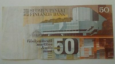 50 Finnish marks from Finland