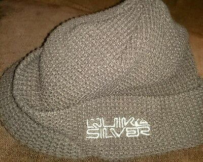Boys knitted peaked Quiksilver winter hat