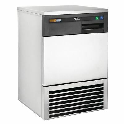 Whirlpool Air-Cooled Ice Maker AGB024 K40 40Kg Automatic Machine Bar Pubs Clubs
