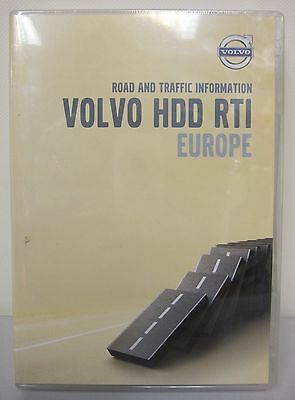 DVD - Volvo HDD RTI Europe (Road and traffic information)