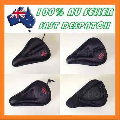2017 New Silicone Thick Soft Gel Bike Bicycle Cycling Saddle Seat Cover Cushion