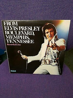 From Elvis Presley Boulevard, Memphis, Tennessee Live, RS 1060, Vinyl LP Record