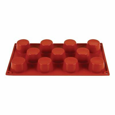 Pavoni Formaflex Silicone 11 Mini Muffin Mould 3X5cm Baking Tool Dishwasher Safe