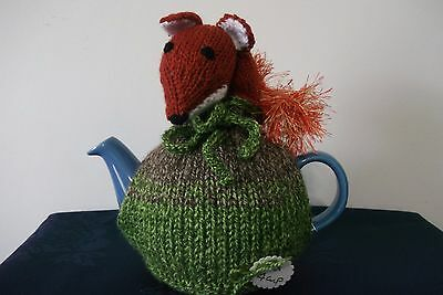 Fantastic Mr Fox ~ Knitted Novelty Tea Cosies