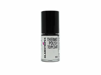 THERMO NAGELLACK by GLAMSTRIPES - TOP COAT - NEU - 5001