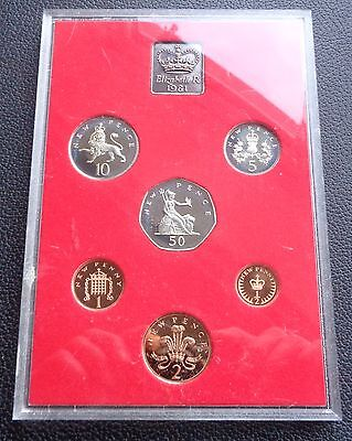1981 Coinage of Great Britain and N Ireland Proof Coin Year Set No Sleeve