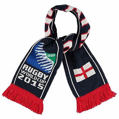 Brand New England Rugby World Cup 2015 RWC15 Supporter Sport England Scarf Navy