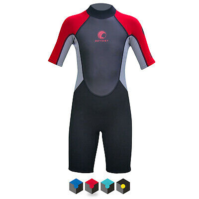 Kids Odyssey Wetsuit 3/2mm Childs Junior Teenage Shortie Shorty Spring Wet Suit
