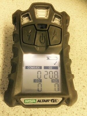 MSA ALTAIR 4x GAS MONITOR (METER ONLY) + CERTIFICATE & 12 MONTH RETURN