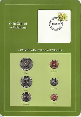 Coins of All Nations Set - Australia - 6 Coins 1982-83