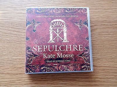 Sepulchre By Kate Mosse,6 Cds Audio Book
