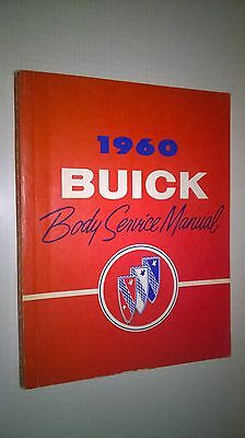 MUST GO! - 1960 Buick - Body Service Manual - General Motors Products of Canada