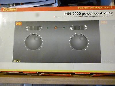 Hornby R8012 HM2000 Dual Train Controller with track leads